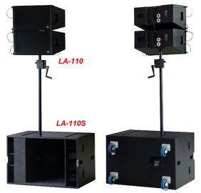 "Line Array Sound System , 2x1""+10"" 400W  Line Array Speaker For Living Event , DJ And Party"